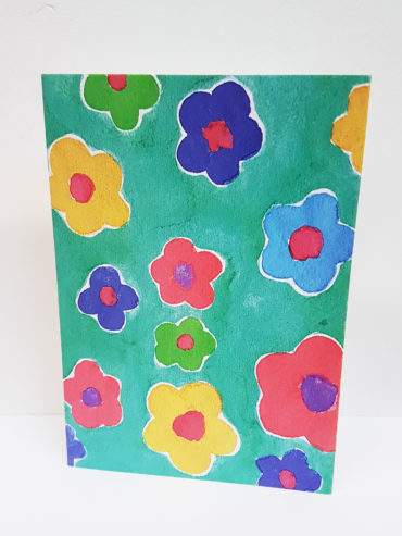 Floral Daisy Greeting Card