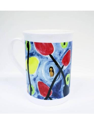 Tulip Watercolour Mug
